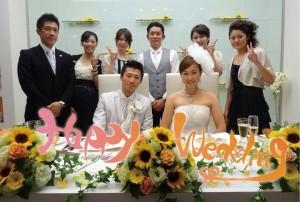 ちかちゃんの結婚式